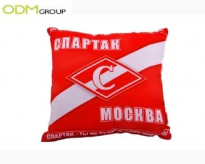 Marketing Idea: Promo Pillow by Spartak in Russia