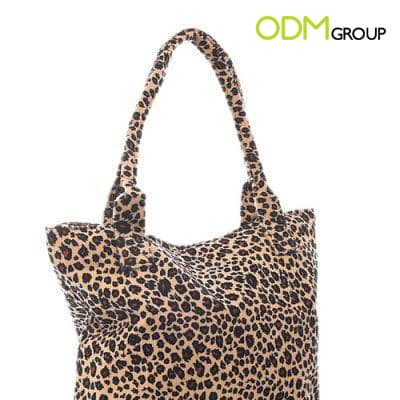 Gift with Purchase - Gigi Leopard Tote Bag