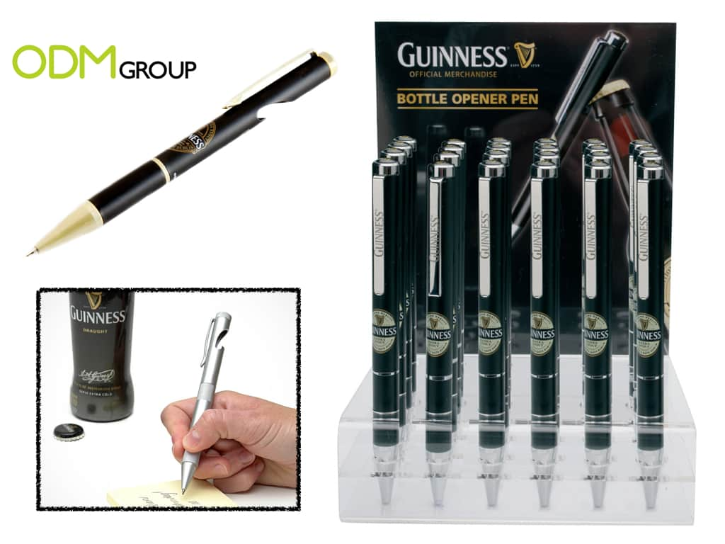 Marketing Budget - Guinness Bottle Opener Pen