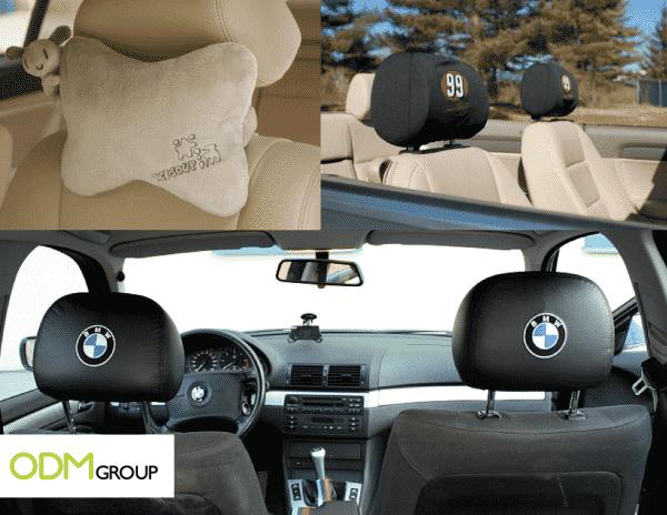 Marketing Gift for Cars - Headrest Cover
