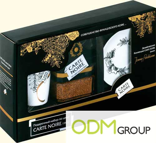 On Pack: Promo by Coffee Noire: Ceramic Coffee Set