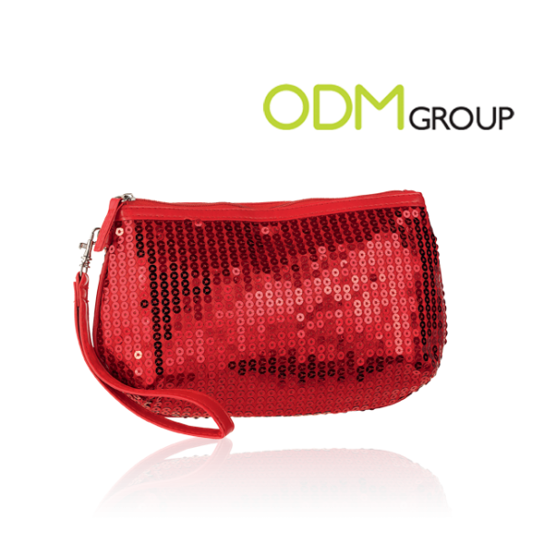 Oriflame Sequin Cosmetic Bag