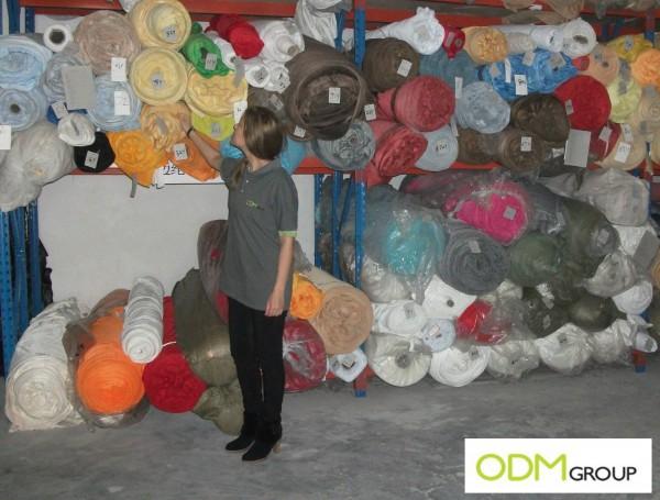 Plush Toys Manufacture - Fabrics