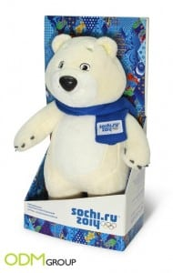 Promo Gift Polar Bear by The Olympic Shop in Russia