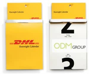 Promotional Calendar by DHL