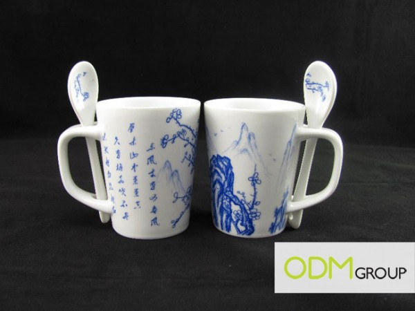 Unique Promotional Gift - Traditional Chinese Mug