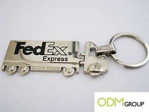 Freight marketing gifts - FedEx Keychain