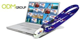 Freight marketing gifts -  FedEx USB