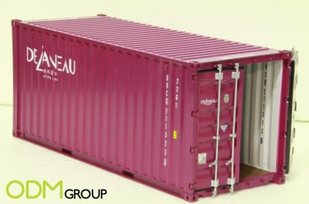 Freight marketing gifts - promotional container