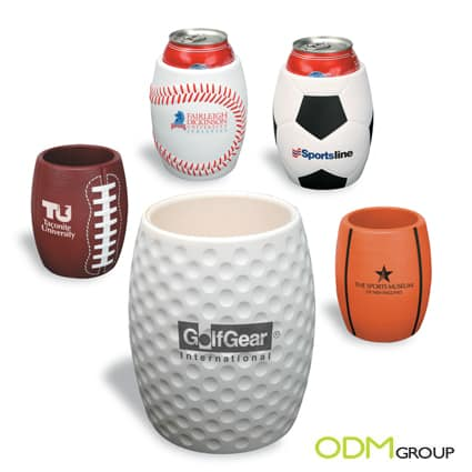 Promo Gift Idea: Sport Ball Can Holders