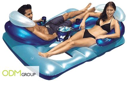 Beach Promo - Double Lounge Float