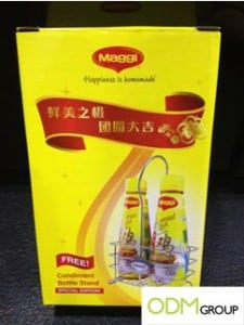 Maggi Condiment Bottle Stand Gift with Purchase