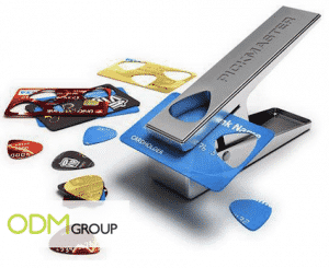 Marketing Idea for Music Industry - Guitar Pick Puncher