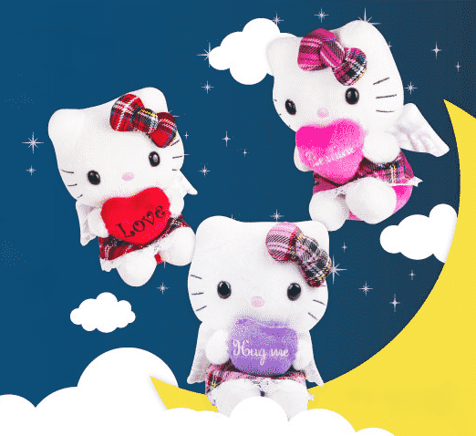 Marketing Product by Sanrio USA - Hello Kitty Angel Plush