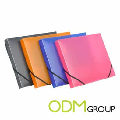 Gift Idea- Plastic Folders