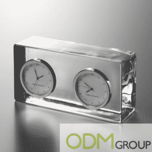Corporate Gift Idea: Crystal International Clock