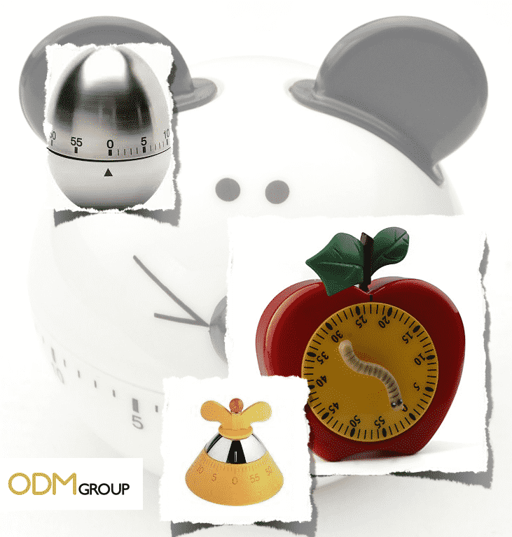 Marketing Idea - On Pack Kitchen Timer for Baking Products