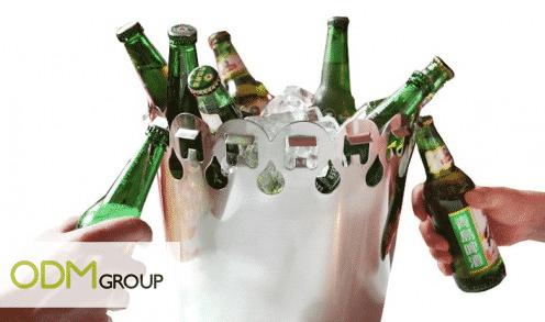 Marketing Promo - Ice Buckets with Multiple Bottle Openers