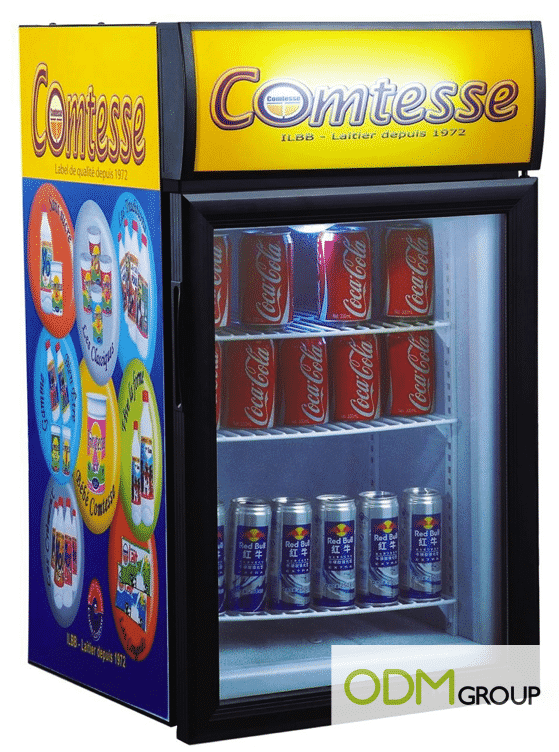 Marketing Tool - Display Fridge for Point of Sales