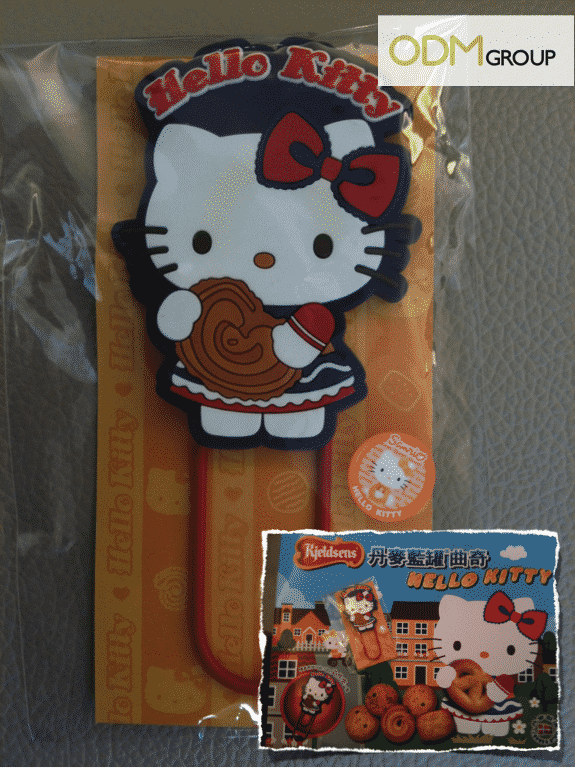 Giveaway by Kjeldsens - Hello Kitty Bookmark