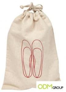 Custom Promos: Drawstring Shoe Bags