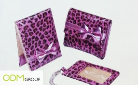 Promo Gift Idea: Ladies gift sets with pink leopard prints