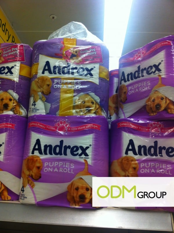 Purchase with Purchase by Andrex-Free Plush Toy