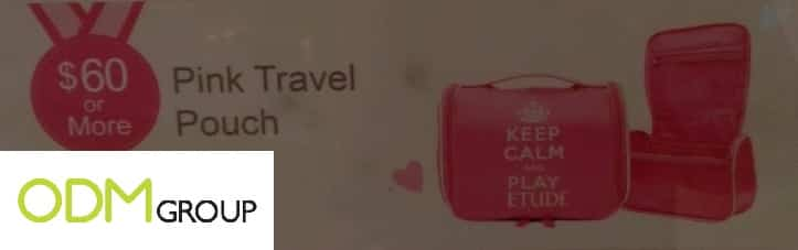Giveaway by Etude House - Travel Pouch