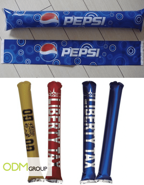 Giveaway for Sport Teams - Branded Thunder Sticks