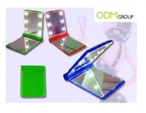 Business Gift Idea: LED Pocket Mirrors