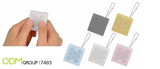 Marketing Gift Idea - Virtual Bubble Wrap Keychain