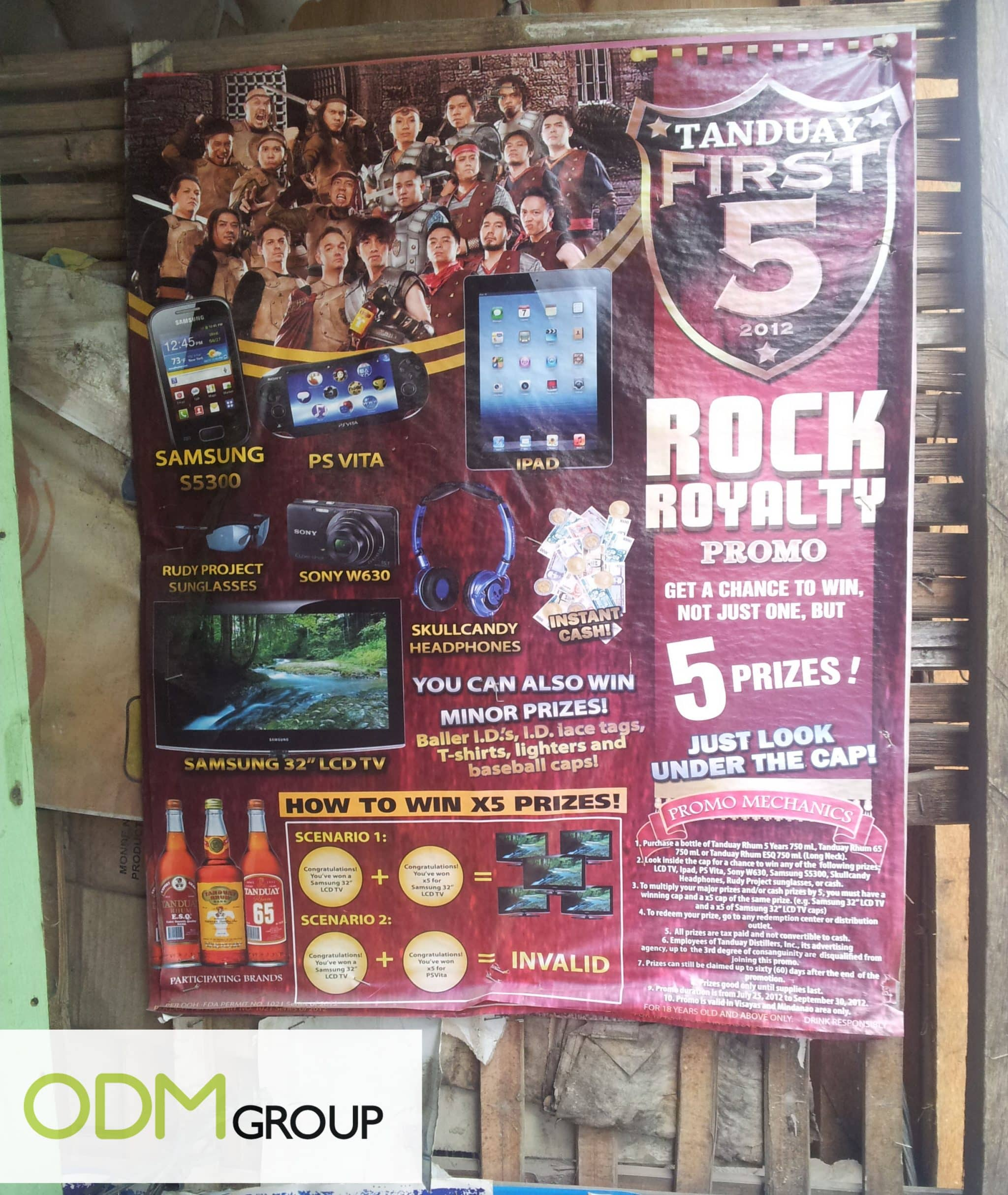 Promo Gifts by Tanduay