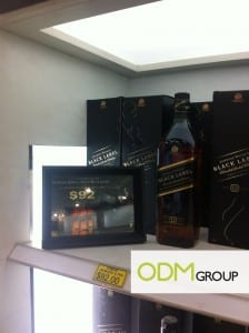 Gift with purchase by Johnnie Walker Black Label- Alpha executive suitcase