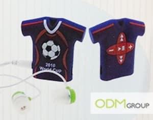 Marketing gift idea: T-Shirt MP3 Player