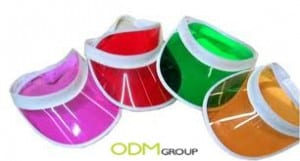 Essential promotional products for summer holidays: Plastic Sun Visor