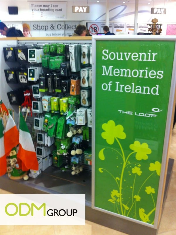 Point of Sales – Ireland Souvenirs at Duty Free Shop
