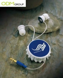 Promo Gift Idea: Retractable Cap & Earphones