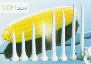 Cornstarch Biodegradable Products -  Golf Nail