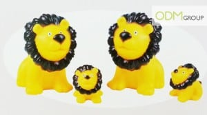 Rubber lion - Gift with purchase