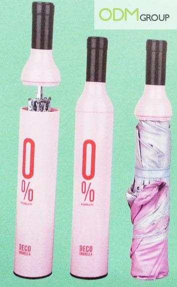Bottle umbrella - Promo gift