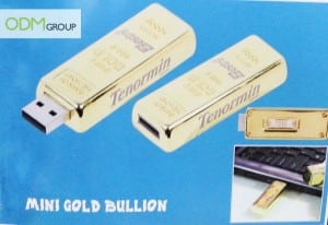 Gold bullion USB - Marketing gifts idea