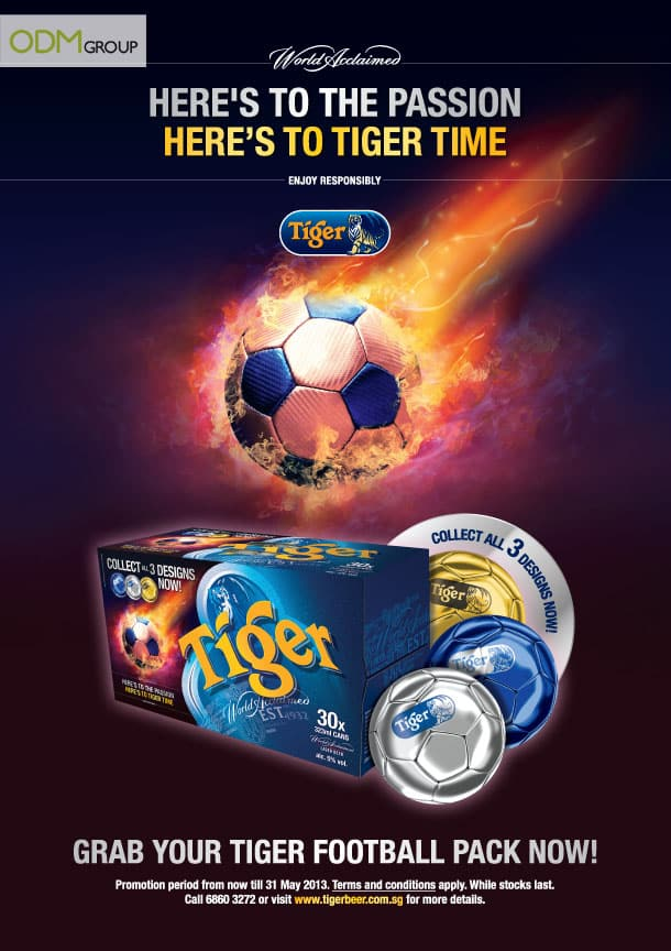 Awesome on pack promo by Tiger Beer