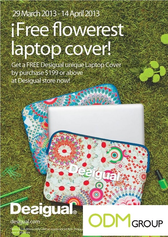 Clothe your laptop with Desigual's Promo Gift