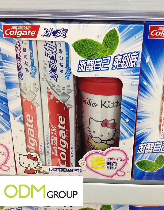 Colgate Marketing Campaign enlists Hello Kitty