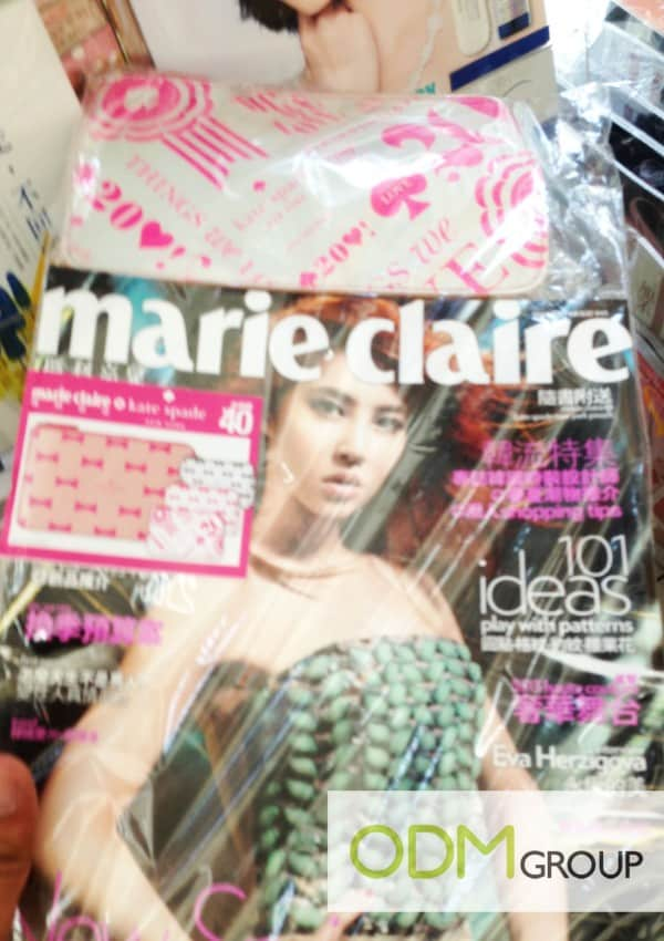 Cover Mount by Marie Claire Magazine