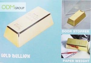 Gold bullion weight - marketing gifts idea
