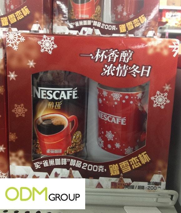 Get Warm over Winter: Promo Gift by Nescafé