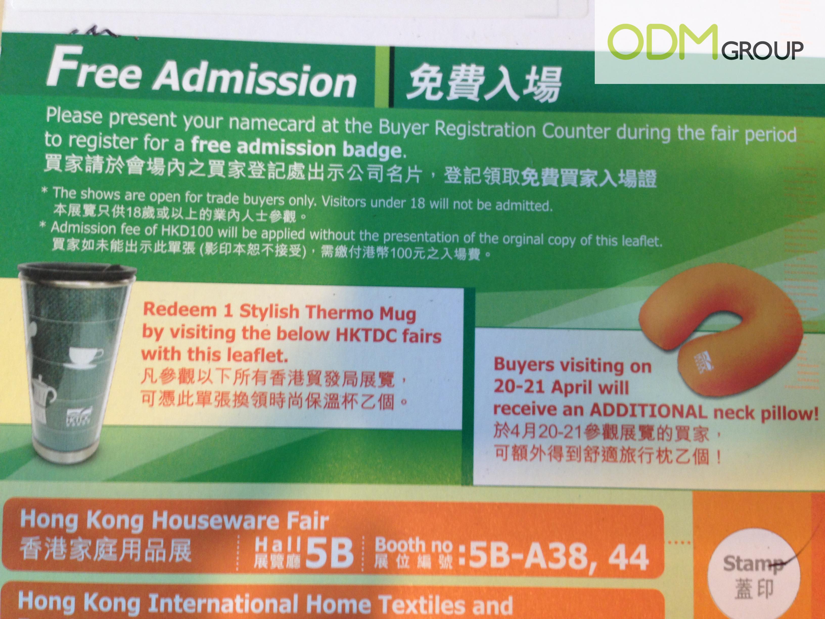 Hong Kong Houseware Trade Fair Gifts