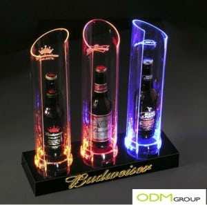 Looking for new ways of presenting your products? - Check out this amazing Point of Sale: LED Bottle Glorifier