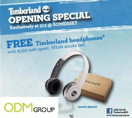Marketing with Music - Timberland GWP